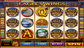 Click Here to Play this FREE Video Slot Flash Game: Eagles Wings...